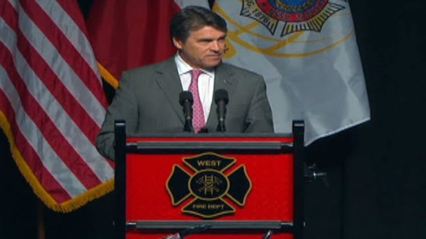 [DFW WEST]Memorial: Gov. Rick Perry at West Memorial