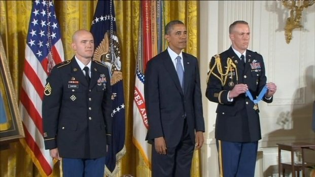 [BAY] RAW VIDEO: Antioch Soldier Awarded Medal of Honor