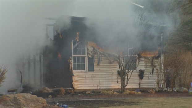[HAR] Fire Destroys Montville Home