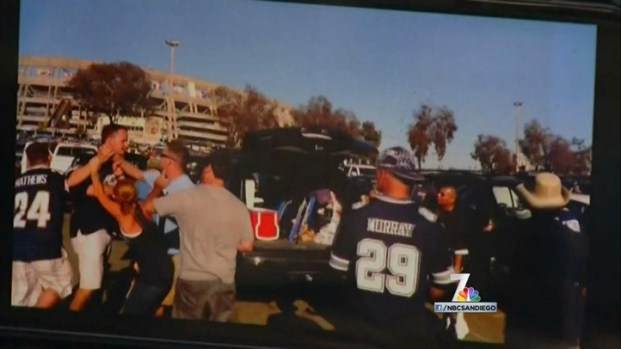 [DGO] Chargers Fans Fight Cowboys Fans Post-Game