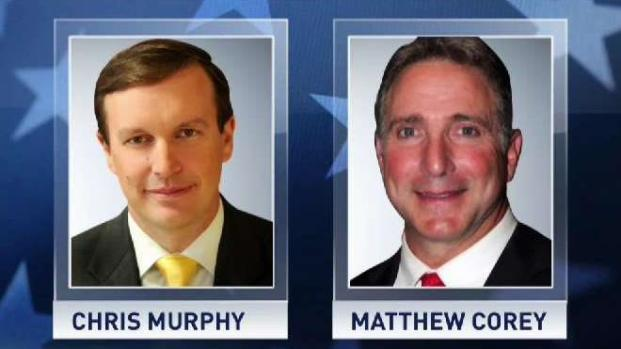 Murphy and Corey Square Off in Senate Race