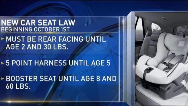 new car seat laws take effect sunday nbc connecticut. Black Bedroom Furniture Sets. Home Design Ideas