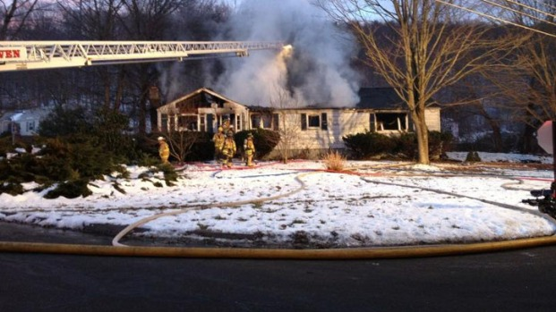 [HAR] One Dead in House Fire in North Branford