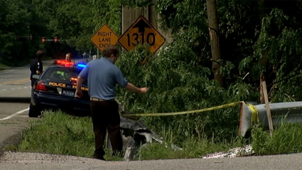 [PHI] RAW VIDEO: First Video From Scene of Ryan Dunn Fatal Crash
