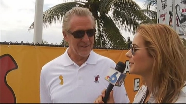 [MI] Pat Riley Talks About the Parade and the Miami Heat