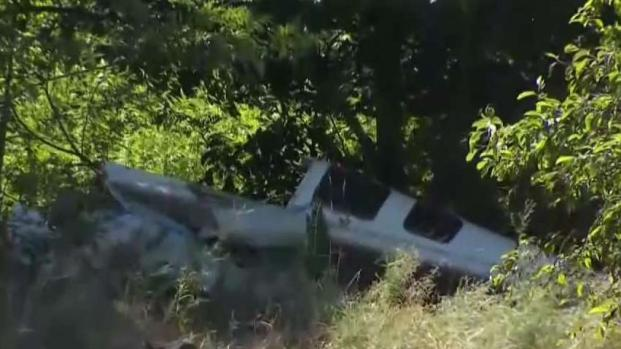 Plane Crashes Near Robertson Airport in Plainville