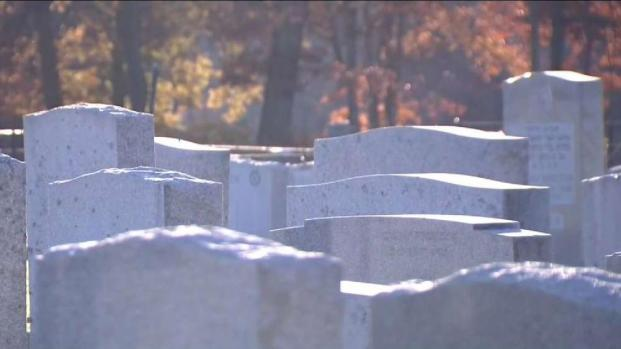 Remains Dug Up From Hartford Grave