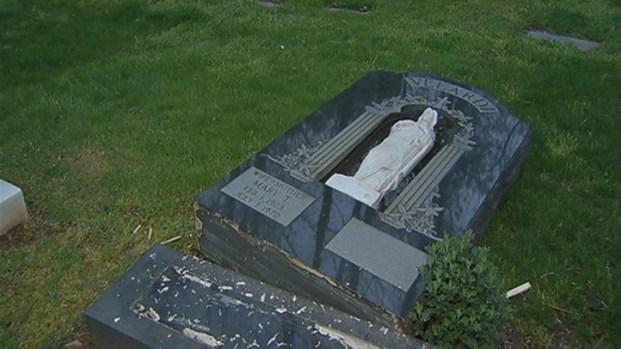 [HAR] Vandals Target West Haven Cemetery