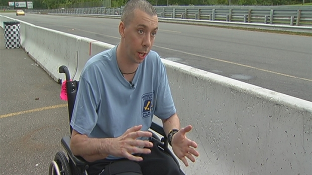 [HAR] Wounded Marine Vows To Race Again
