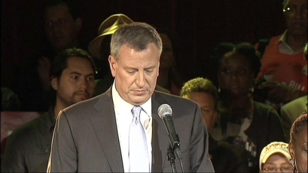 [NY] Bill de Blasio Addresses Supporters on Primary Night