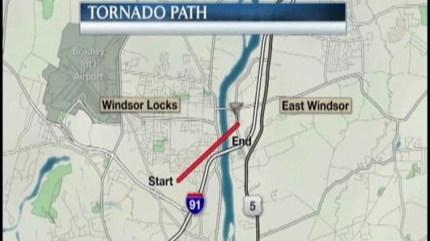 [HAR] Path of the Tornado on Monday