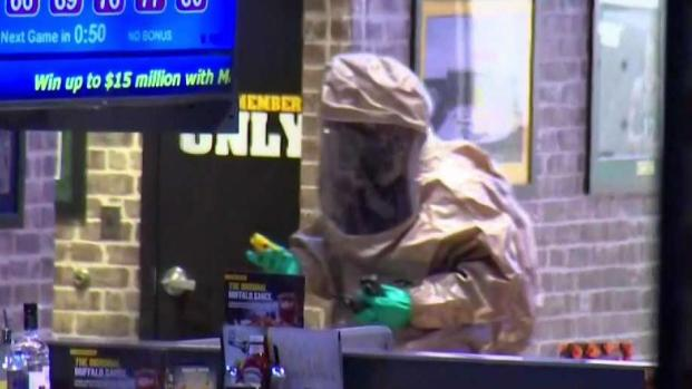 [NECN] Worker Dies in Hazmat Incident at Buffalo Wild Wings