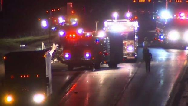 [HAR] Wrong-Way Crashes Closes I-95 in North Stonington
