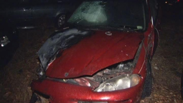 [HAR] Man Rescued From Burning Car