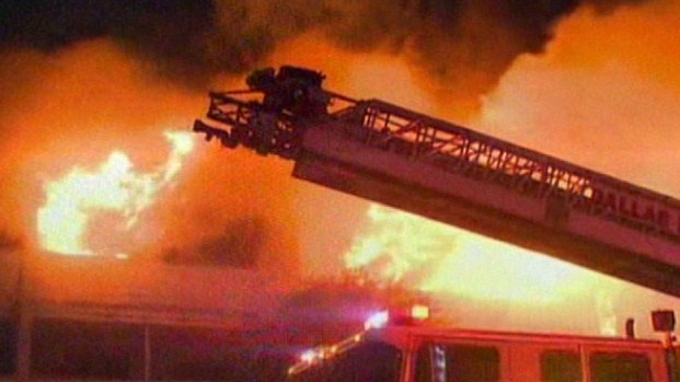 Massive Fire Rips Through Condo Complex