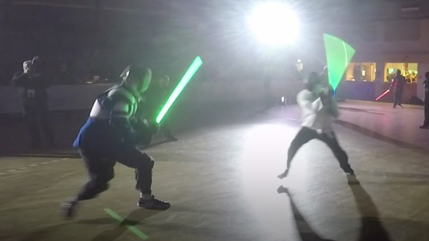 Lightsaber Dueling Awakens the Force in France