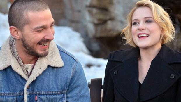 [NBCAH]  Shia LaBeouf & Evan Rachel Wood Talk Sundance