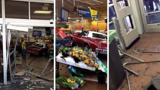 [BAY] Raw Video: Aftermath of Walmart's Easter Sunday Car Crash