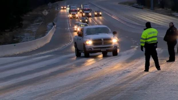 [NATL] Winter Chill, Snow Hits Southern States