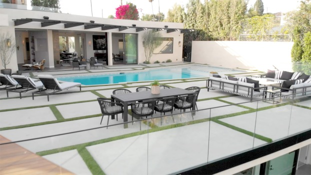 Midcentury Modern Home in Brentwood
