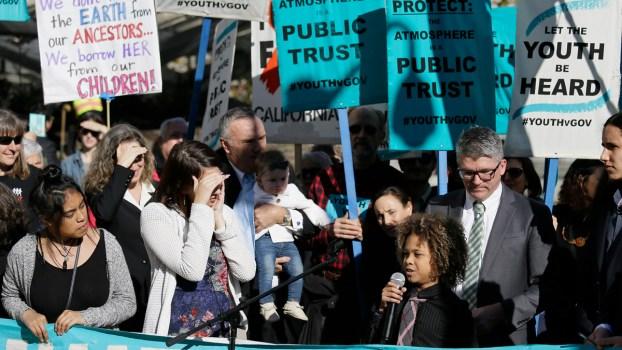Children Sue Trump Administration Over Climate Change