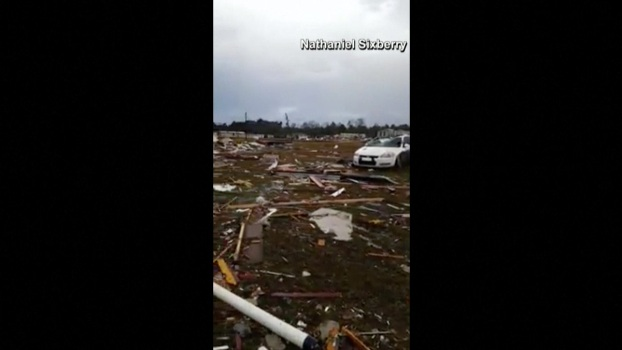 Deadly Tornado Strikes Mobile Home Park in Georgia