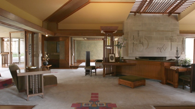 Hollyhock House: Frank Lloyd Wright's First LA Project