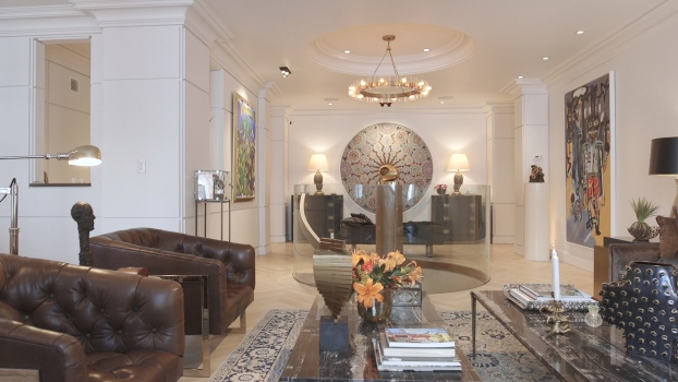 Clive Davis's Home Designed by Greg Schriefer