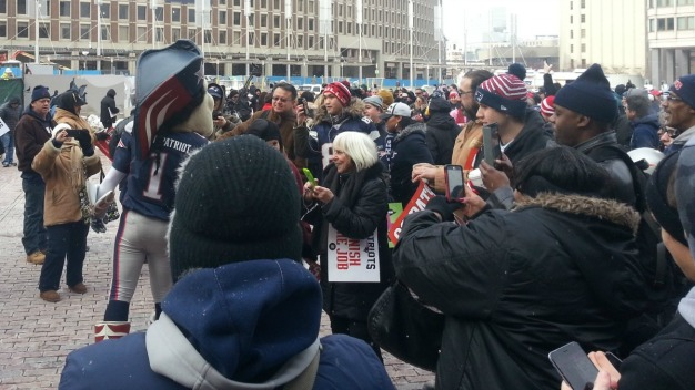 Boston Hosts Send-Off Rally for Patriots