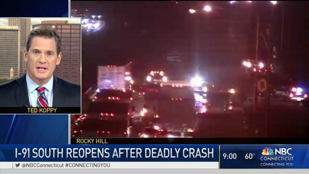 2 Dead After Crash on I-91 in Rocky Hill