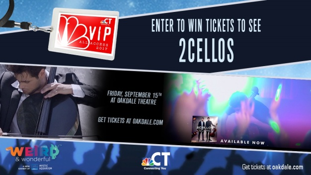 2Cellos VIP Ticket Sweepstakes