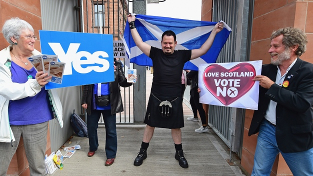 Polls Close on Scotland's Independence Referendum