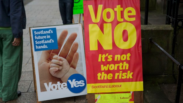 Will U.K. Exist Tomorrow? Scots Begin Voting on Independence