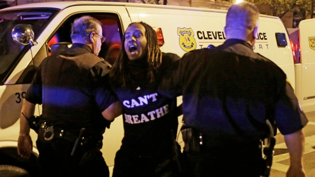 Protests, Arrests After Ohio Cop's Acquittal in Deaths of 2