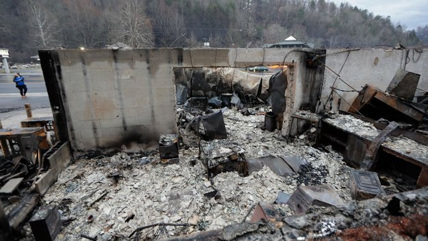 14th Death Confirmed in Tenn. Fires