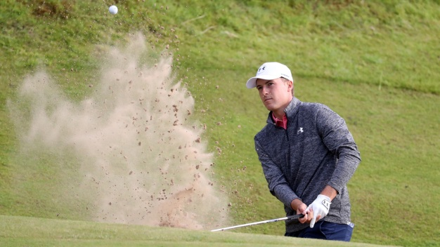 Spieth 1 Round Away From 3rd Leg of Grand Slam