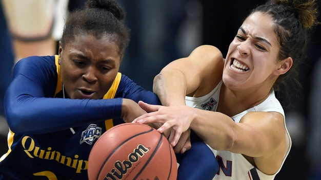 UConn Beats Quinnipiac, Reaches 25th Straight Sweet 16