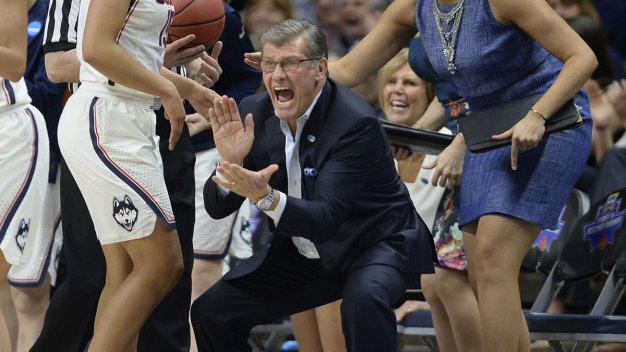 UConn Coach's Speech Getting Attention Year Later