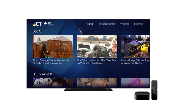 Get NBC Connecticut on Your Apple TV