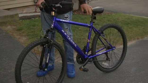 Police Give New Wheels to Bike Theft Victim