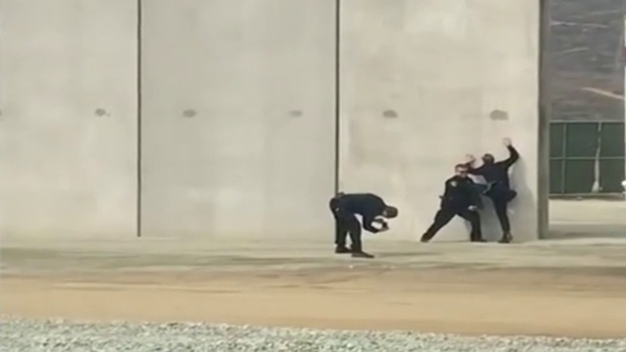 Video Shows Officers Joking at Border Wall Prototypes