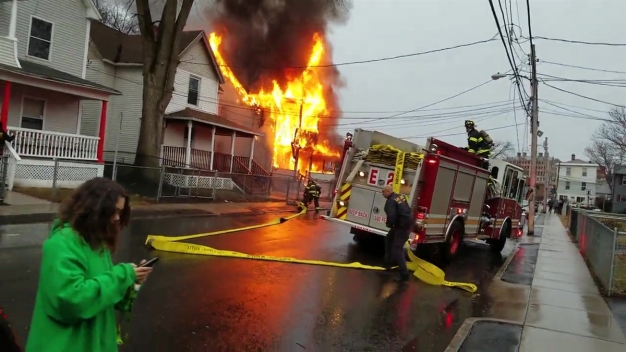 Brook Street Fire Hartford