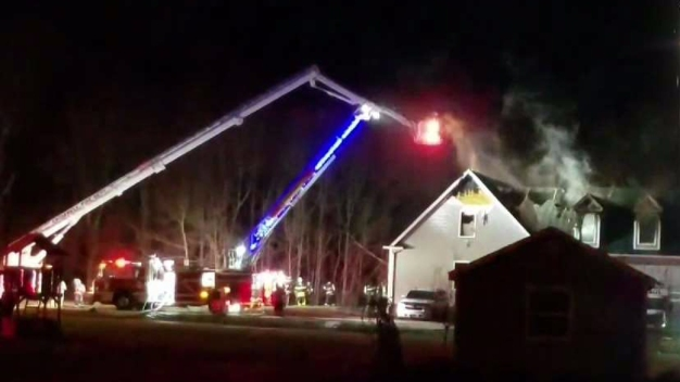 1 Injured in Cromwell House Fire