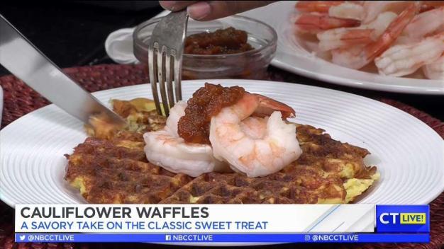 CT LIVE!: Cauliflower Waffles