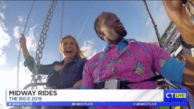 CT LIVE!: Rides at The Big E!