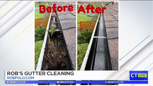 CT LIVE!: Rob's Gutter Cleaning