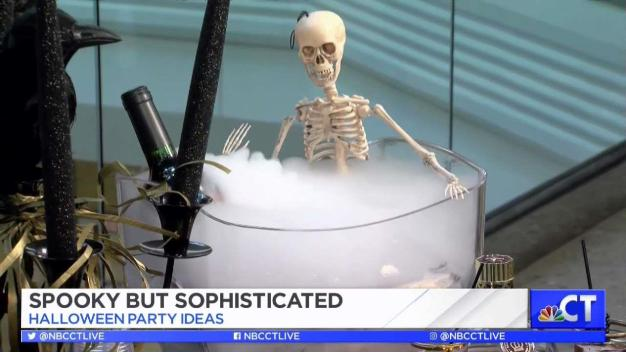 CT LIVE!: Spooky but Sophisticated Halloween Party