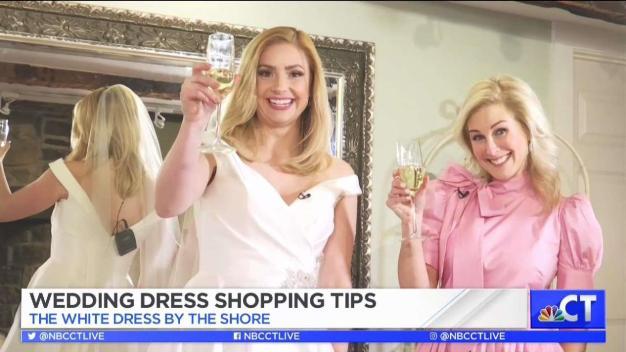 CT LIVE!: Wedding Dress Shopping Tips