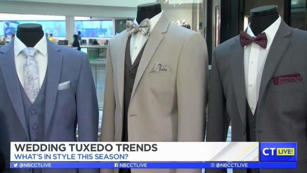 CT LIVE!: Wedding Tuxedo Trends