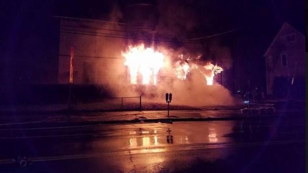 Crews Battle 2-Alarm Fire in New Haven